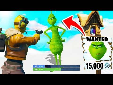 15.000 V-Bucks Kopfgeld Auf Den Grinch In Fortnite!