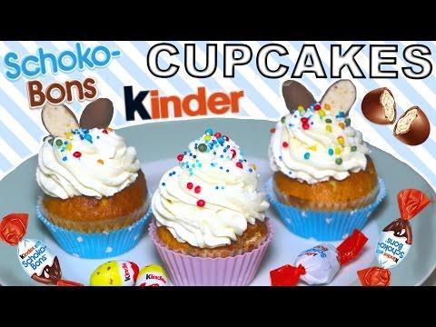 cupcake-kinder-schoco-bon-recette- -recipe-[eng-&-fr-subs]-🐣