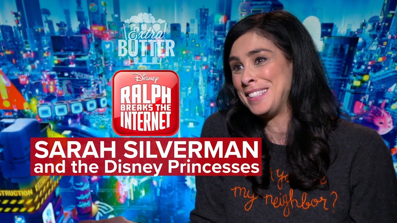 Sarah Silverman And The Disney Princesses Ralph Breaks The Internet Interview Youtube