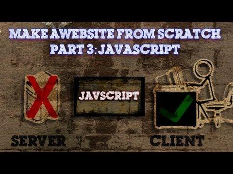 Tinkernut - Website Basics 3 - Javascript