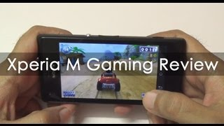 Sony Xperia M Gaming Review with Casual Games