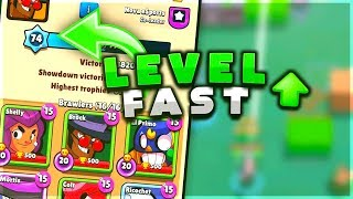HOW TO EASILY LEVEL UP SUPER FAST IN BRAWL STARS!