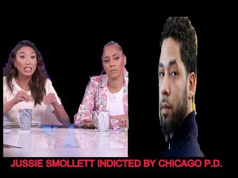 Jeannie Mai and Amanda Seales Argue Over Jussie Smollett Chicago PD Indictment On Jussie Smollett