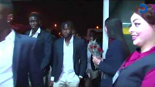 Harambee stars arriving in Egypt for AFCON