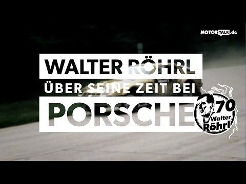 Walter Röhrl und Porsche