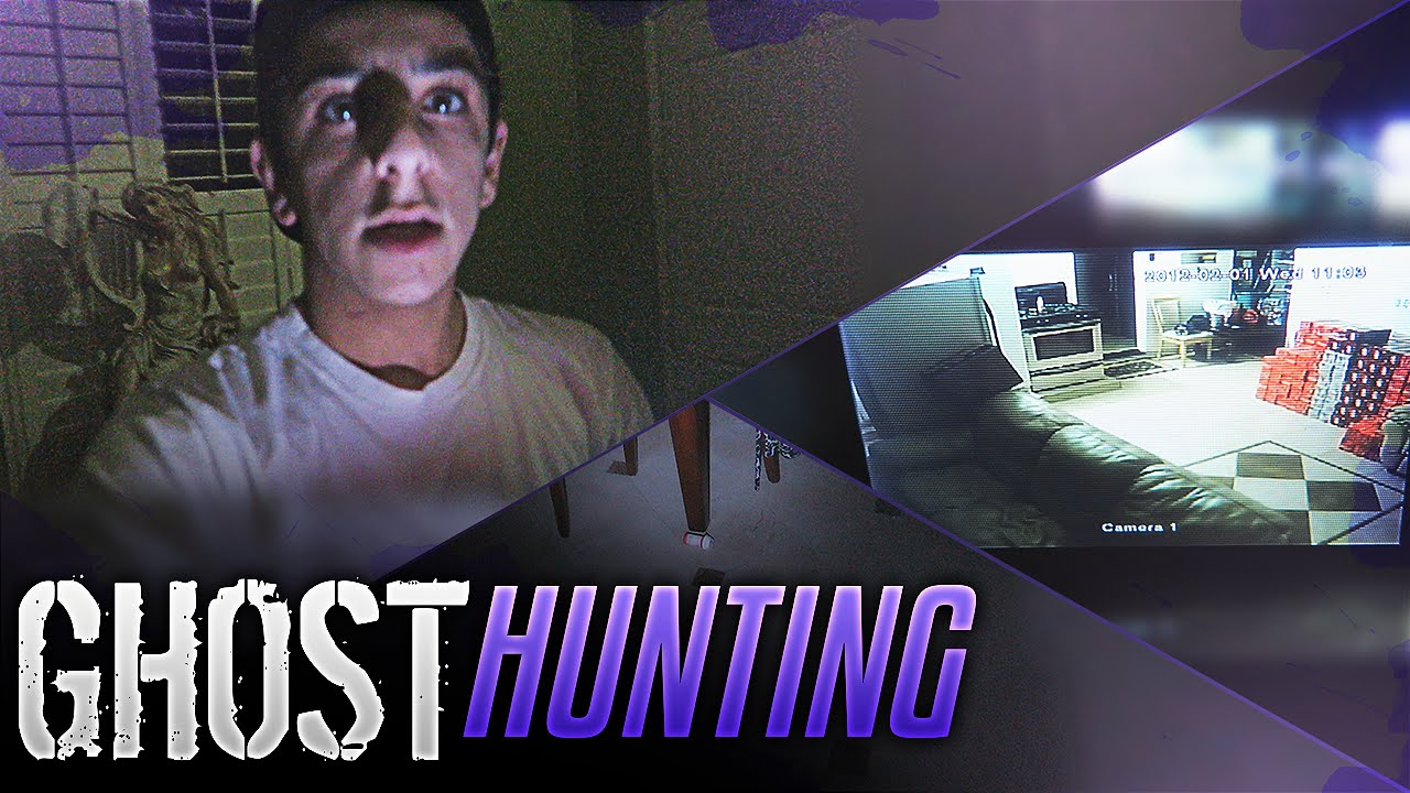 CRAZY GHOST HUNTING IN MY HOUSE | FaZe Rug   YouTube
