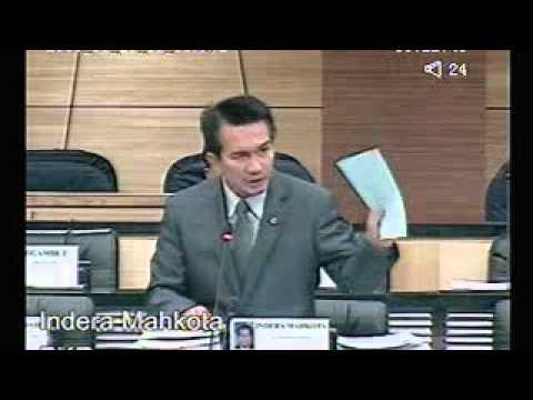 MP PKR Indera Mahkota Bahas RUU LHDN Malaysia (Pindaan) 2011