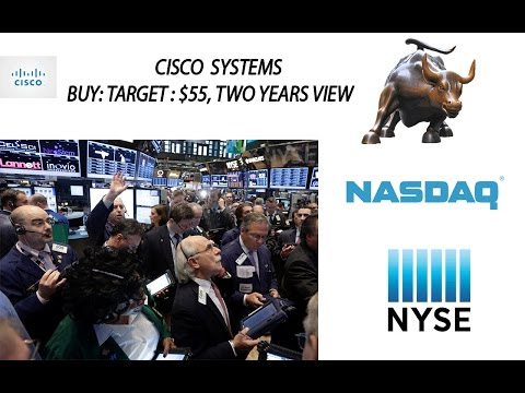 NASDAQ:CSCO| Cisco System Stock Tips| Buy for 2 years|Target $55 +