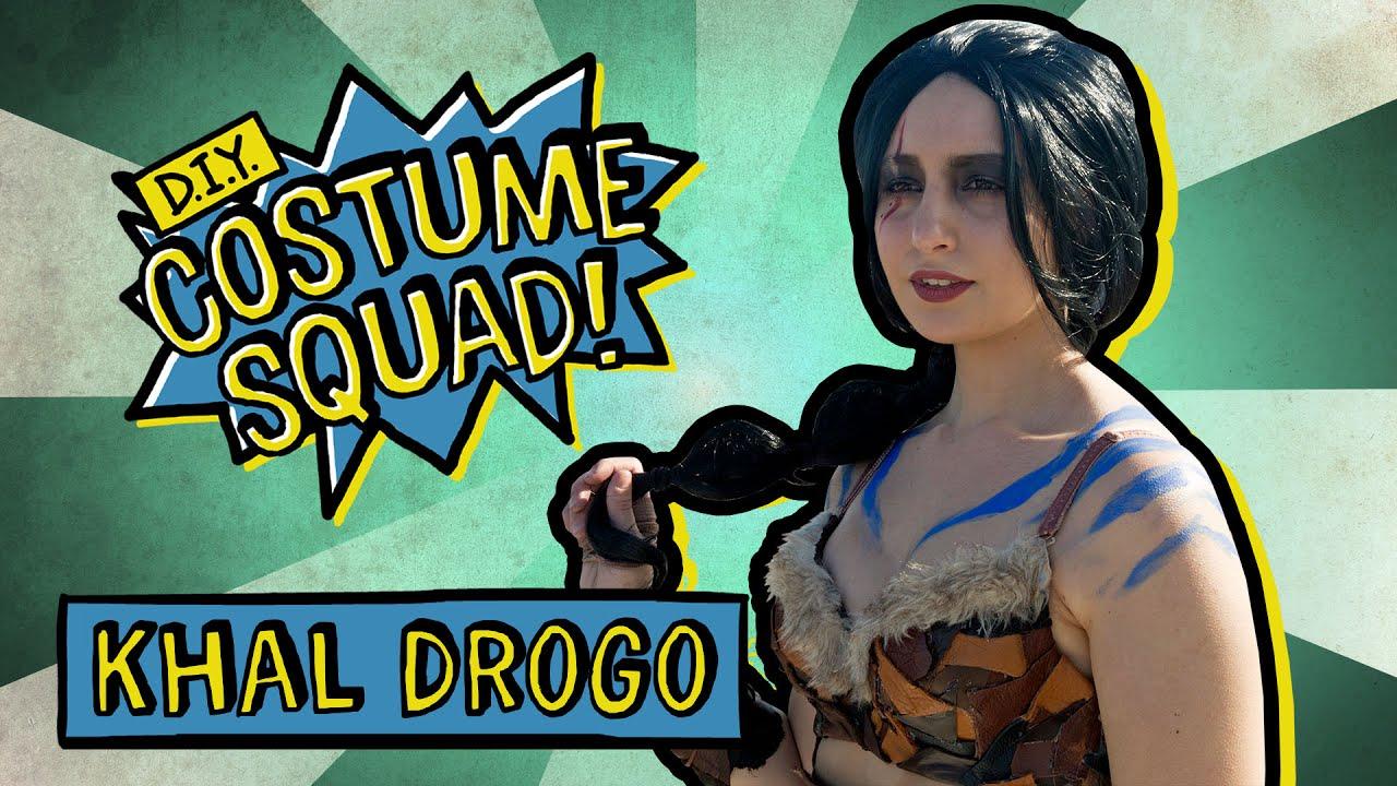 Make Your Own Genderbent Khal Drogo - DIY Costume Squad - YouTube d2d832ebd2