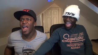 Deji Reacts To KSI And Deji s