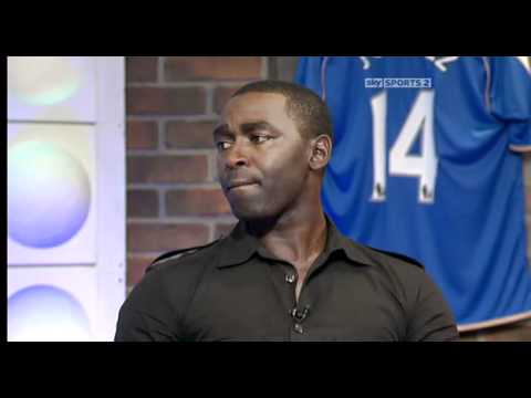 Andy Cole at Soccer AM - 21.08.10