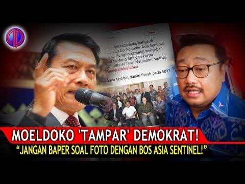 Moeldoko 'T4mp4r' Demokrat! Jangan Baper Soal Foto dengan Bos Asia Sentinel!
