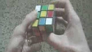 Jessica Fridrich F2L Method Tutorial 3x3 Rubik's Cube Thumbnail