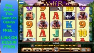 Wolf Run High Limit Machine Jackpot Online