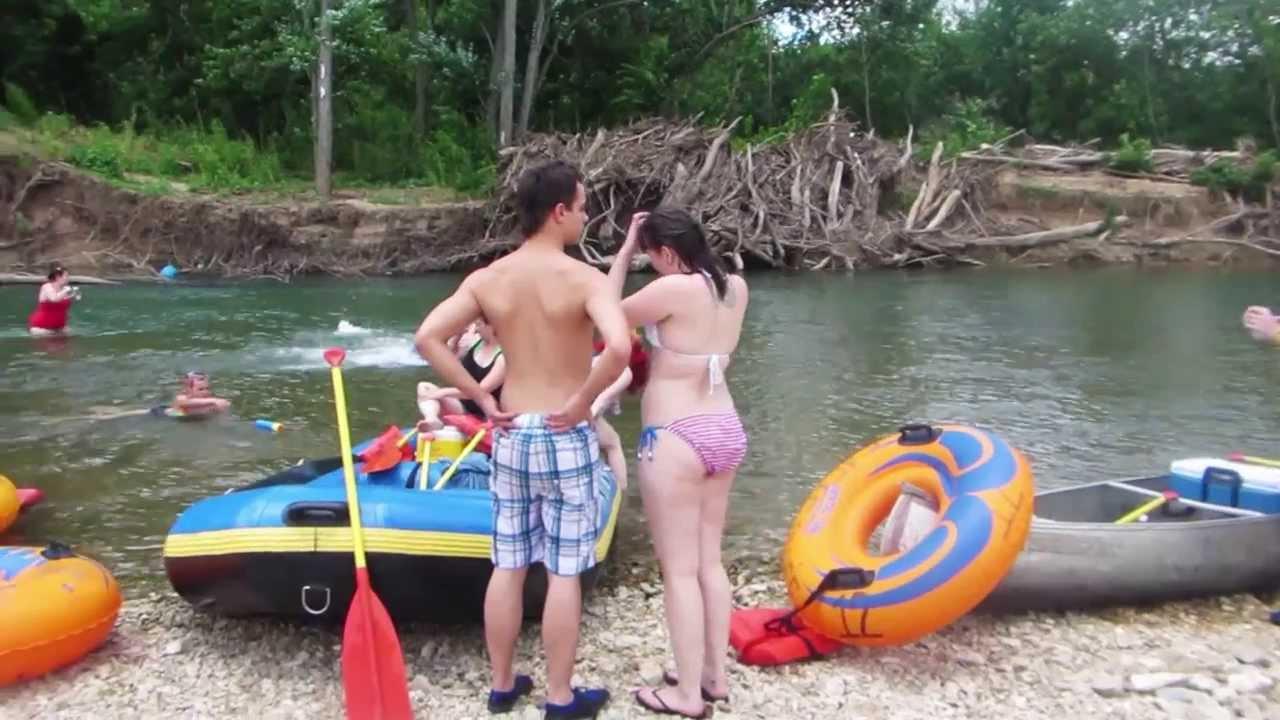 2013 Illinois River Float Trip Youtube