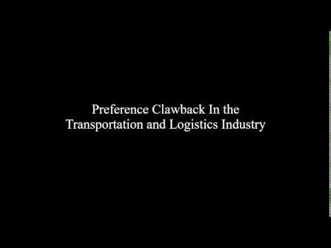 Bankruptcy Clawbacks in the Transportation and Logistics Ind