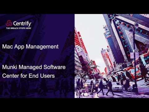 Mac App Management - Munki Managed Software Center for End Users