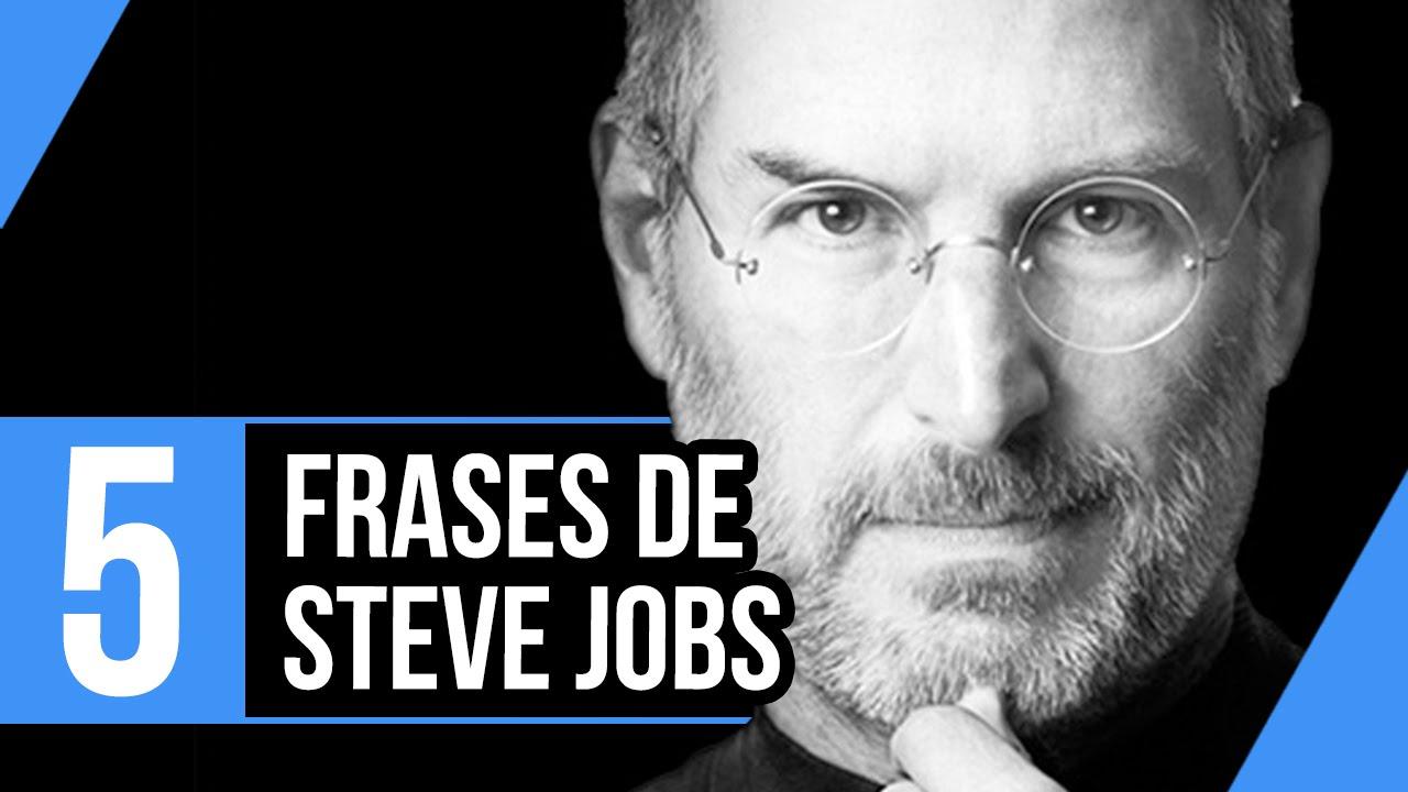 5 Melhores Frases De Steve Jobs Insight 70 Youtube