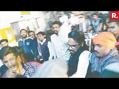 BJP and BSP workers clash in Aligarh, U.P