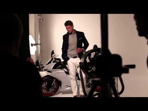Samuelsohn Behind the Scenes Spring/ Summer 2015 with Model, Philippe LeBlond