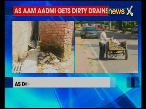 Delhi Health minister Satyender Jain's residence spic and span but aam aadmi's streets full of filth
