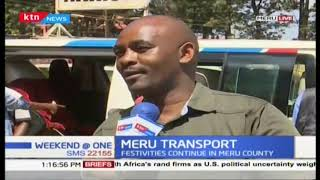 Meru transport system experience low turn out of commuters