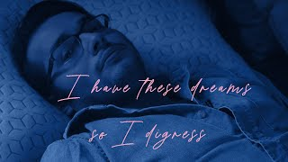 I have these dreams ... so I digress.