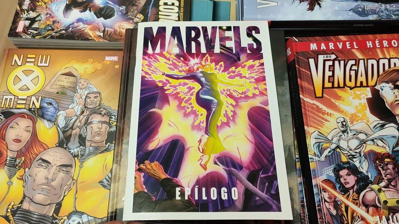 Marvel Facsímil: Marvels Epílogo de Kurt Busiek y Alex Ross.