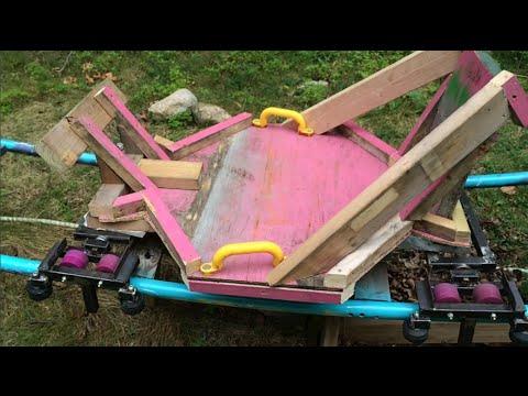 *NEW CAR* Backyard Roller Coaster Update 6 - YouTube