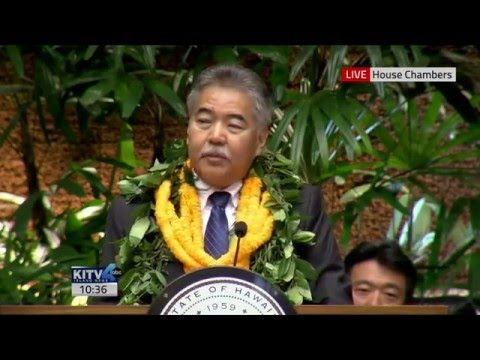 2016 Hawaii State of the State Address