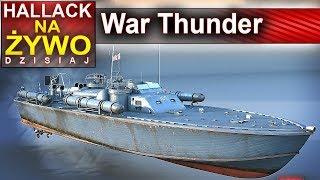 War Thunder - nieśmiała próba pływania :) - Na żywo
