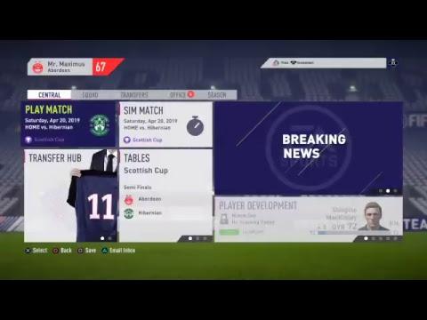 FIFA 18 Aberdeen Football Club #19