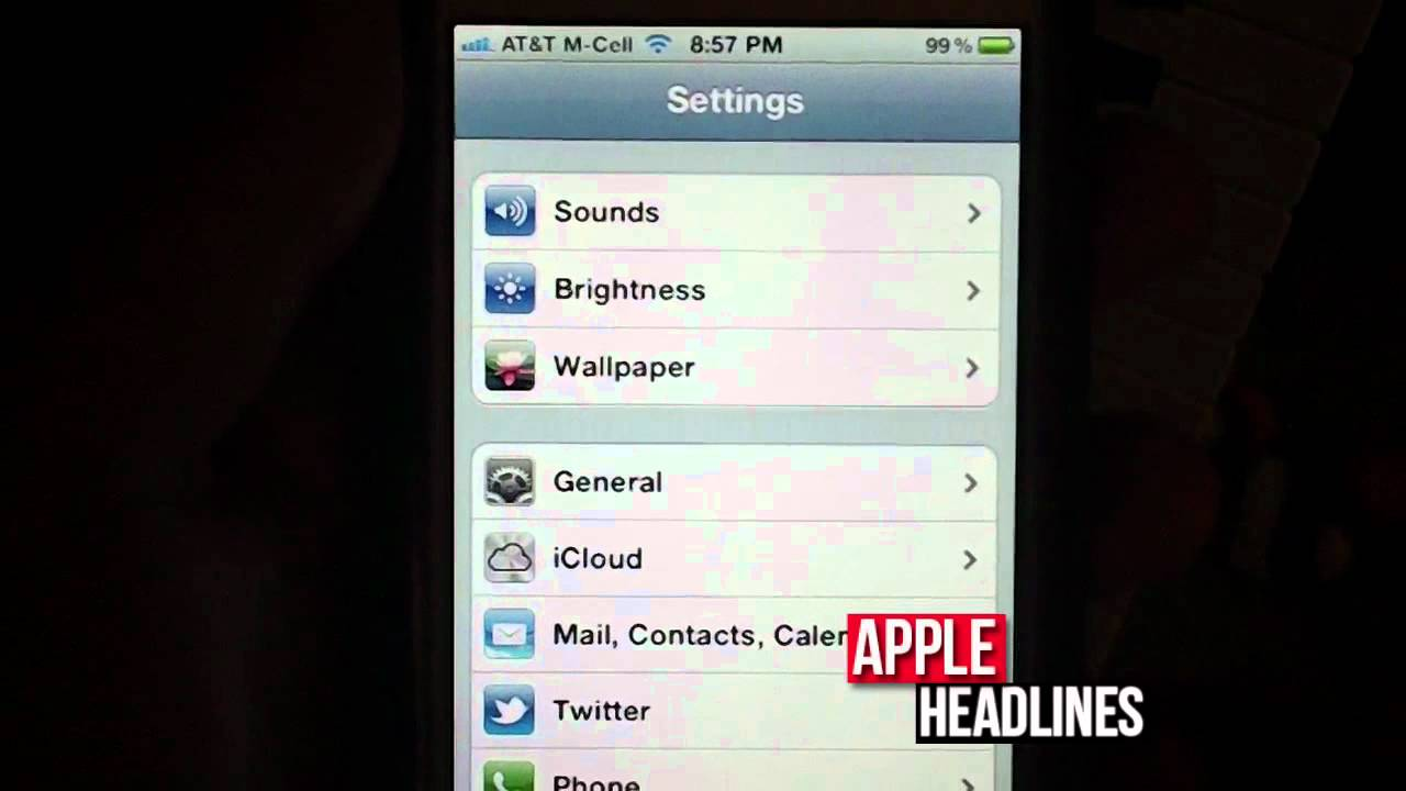 iphone 4s imei serial number