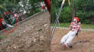 KILLER CLOWN ON PLAYGROUND PRANK!!
