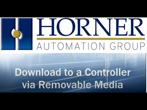 Download to a Controller via Removable Media