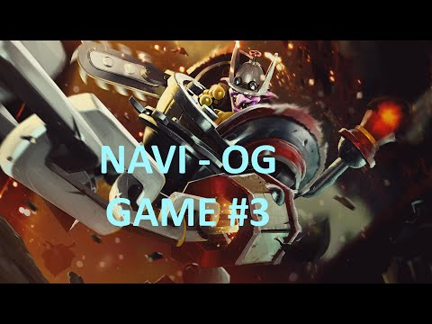 NaVi vs OG Dream League SEMI Final UB Game 3 Highlights Dota 2