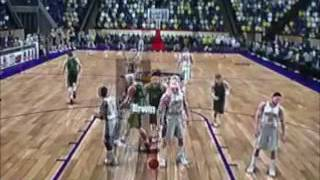 College Hoops 2K7 (PS3) Tournament 10 Part 1