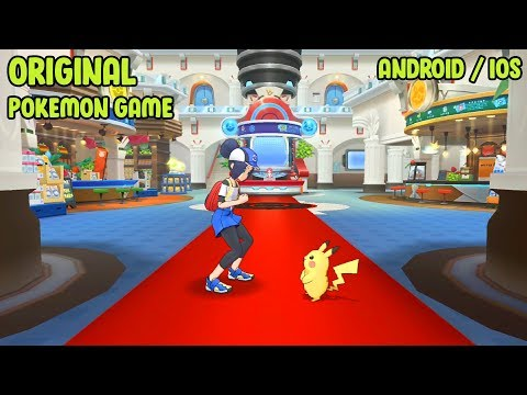 NEW ORIGINAL!! POKEMON MASTERS GAME ANDROID IOS Download ( RPG Game )