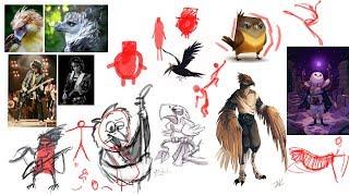 Дизайн персонажей для начинающих