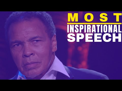 Muhammad Ali Motivational Speech - This will change the way you look at your time. from YouTube · Duration:  3 minutes 58 seconds