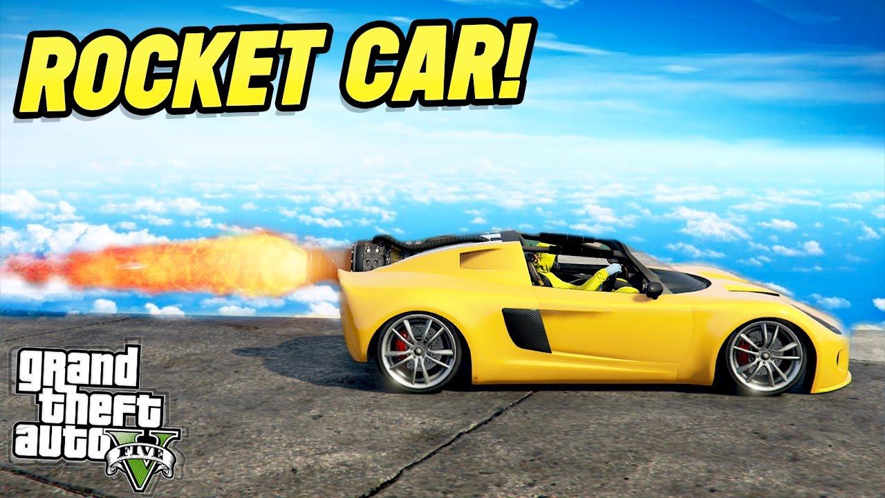 How To Get Rocket Car Gta  Online