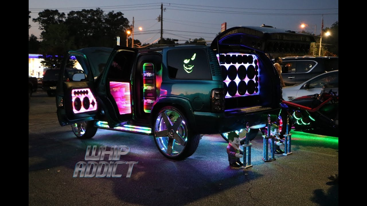Whipaddict The Quot Infinity Quot Chevy Tahoe Starr Wheels Judge