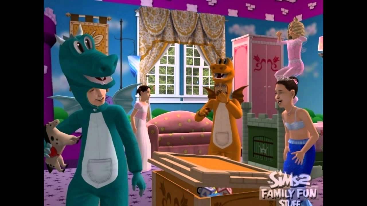 The Sims 2 Family Fun Stuff PC 2006 Gameplay