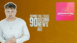 Boardmasters, Michael Bibi & Apple Music | 90 Second News | REWIND THAT TRACK