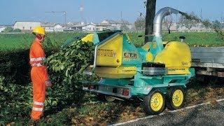 Tocator Deseuri De Lemn Si Resturi Vegetale Biomatich 85 Cu Motor Diesel