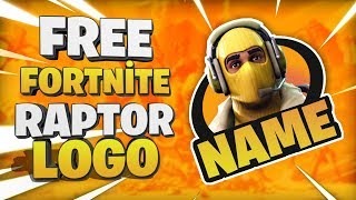 How to make fortnıte logo | Fortnite raptor logo | Fortnite logo yapma #18