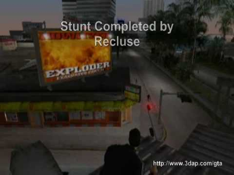 Vice City Stunt Challenge One