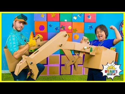 How to Make DIY Craw Machine from Cardboard!!! - Видео онлайн