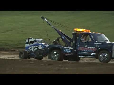 Bloomington Speedway Indiana Midget Week A Main Pt1 6-7-19