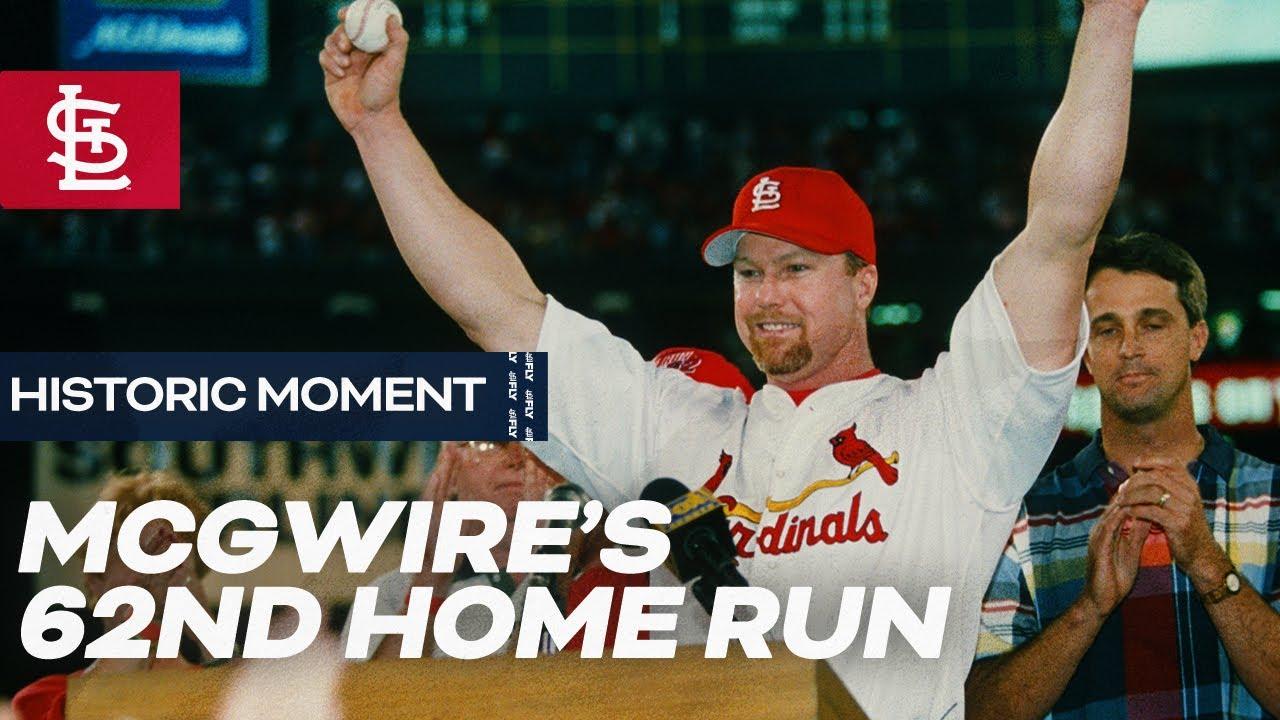 McGwire's 62nd Home Run